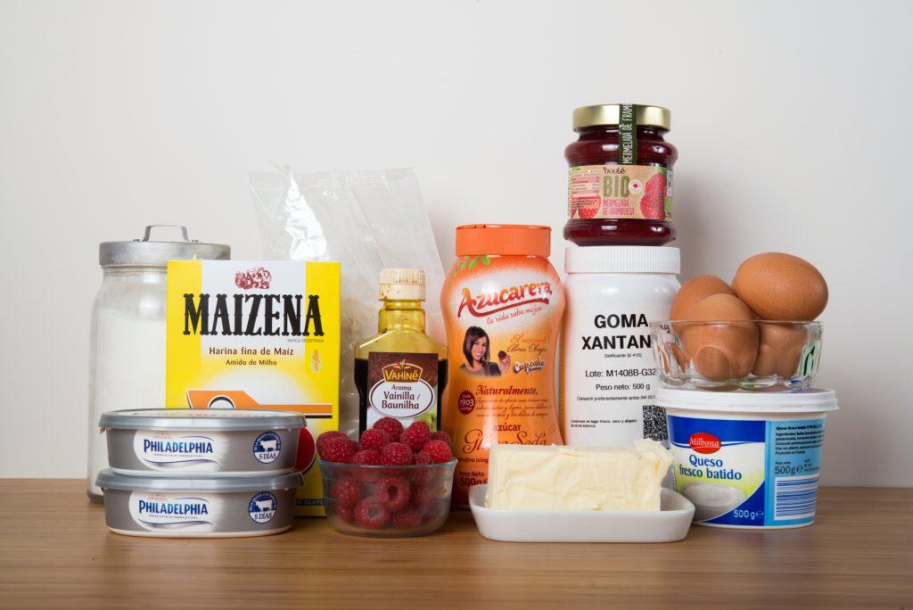 Ingredientes necesarios para la tarta de queso