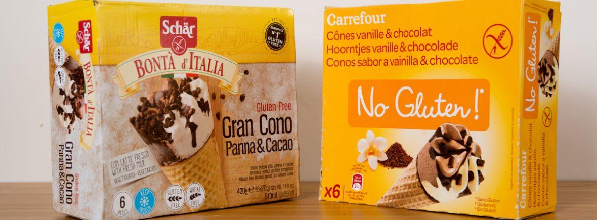 Helados Schärf VS Carrefour
