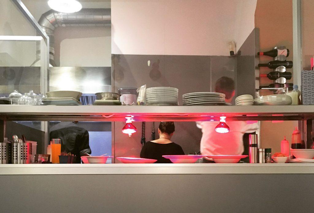 Restaurante Cocina Código Barra