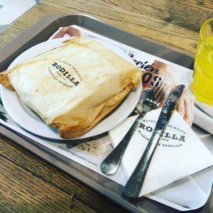 Envoltorio Sandwich Rodilla